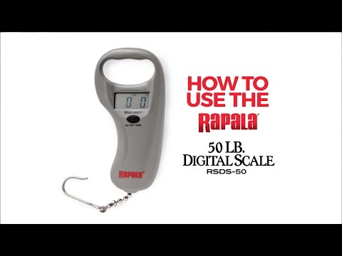 Rapala® RSDS Scale Instructions