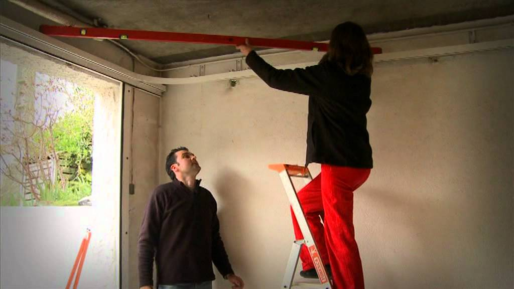 Porte garage lat rale coulissante youtube - Portes garage coulissantes ...