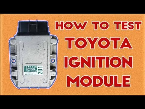 22re Ignition Coil Wiring Diagram 1979 Pontiac Firebird Toyota Igniter V9 Schwabenschamanen De Assy How To Check Working Or Not Youtube Rh Com Hiace