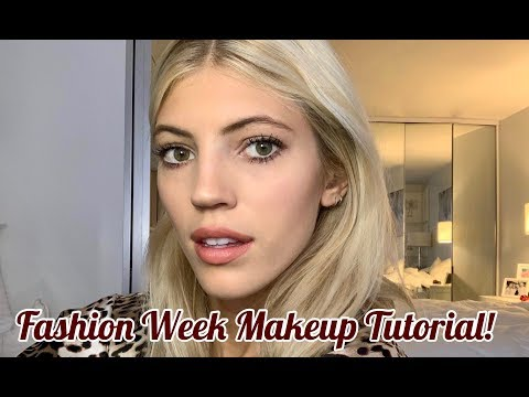 Fashion Week Makeup Tutorial  Devon Windsor