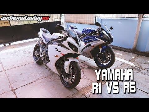 Komparasi Yamaha R1 VS Yamaha R6