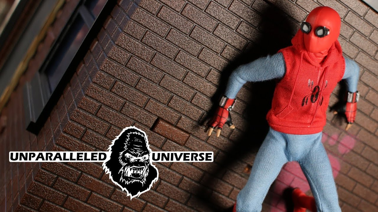 8e37c72617d64 Mezco One:12 Collective Homecoming Homemade Suit Spider-Man - YouTube