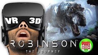 ROBINSON The Journey - PS VR Demo Trailer - Google Cardboard 3D SBS 1080p PS4 Crytek