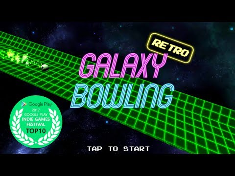 Galaxy Retro Bowling Android Gameplay - 동영상