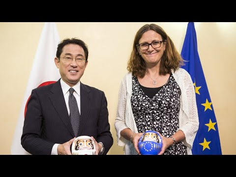 EU, Japan announce trade deal