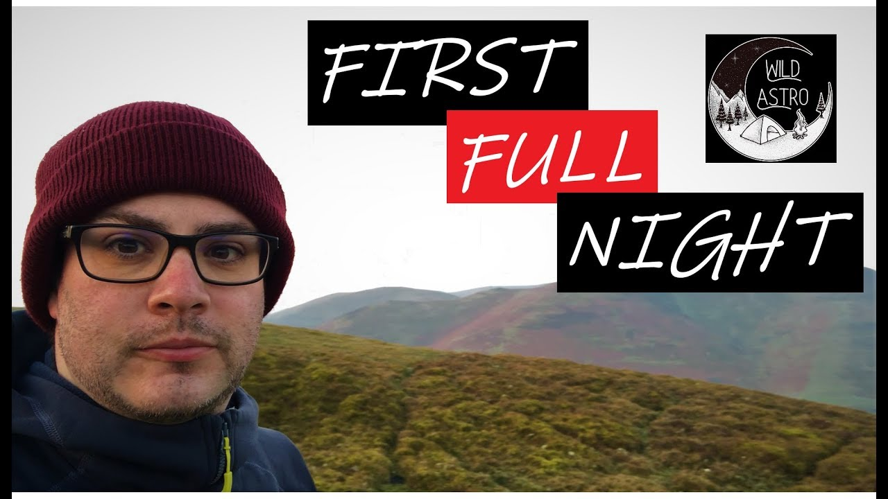 My First Full Night of Wild Camping - YouTube