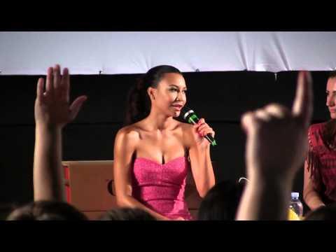 [HD] Naya Rivera at Giffoni Film Festival 2013