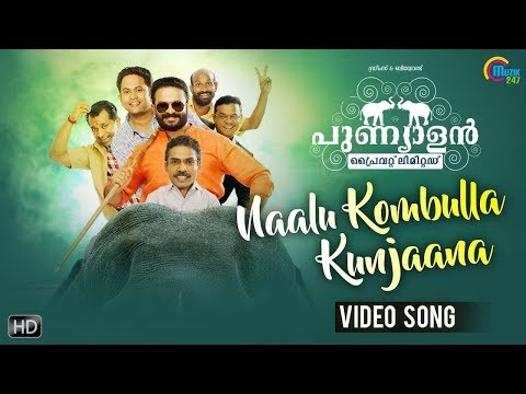 Punyalan Private Limited | Naalu Kombulla Kunjaana Song Video| Vineeth Sreenivasan | Jayasurya | HD