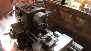 Clausing Metal Lathe VFD and First Chips.