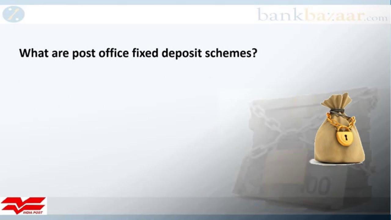Post Office Fixed Deposit Youtube
