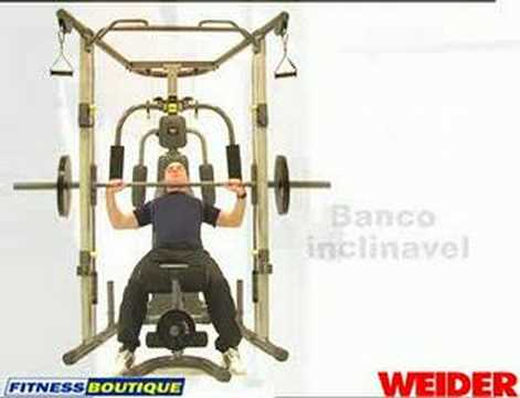 Aparelho Multi Funo Press WEIDER Smith Machine YouTube
