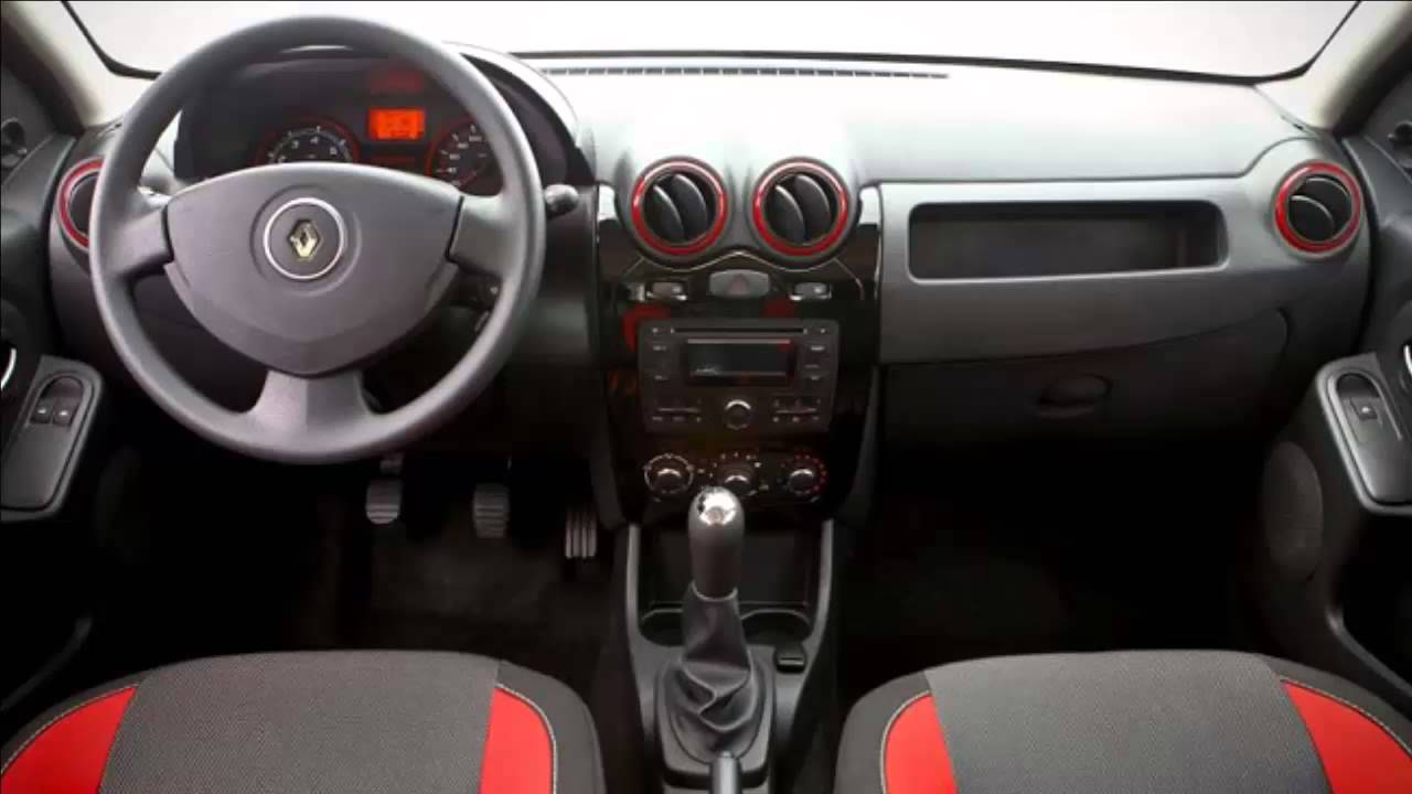 car interior 2012 renault sandero stepway rip curl 1 youtube. Black Bedroom Furniture Sets. Home Design Ideas