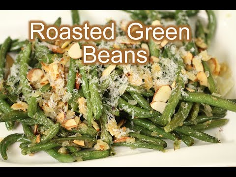 How To Make Roasted Green Beans | Homemade Thanksgiving Recipe | Rockin Robin Cooks