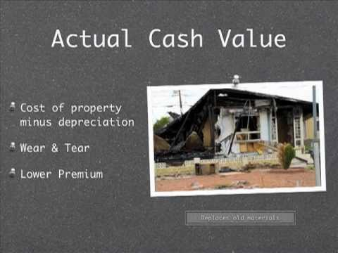Actual Cash Value Vs Replacement Cost Homeowner Insurance