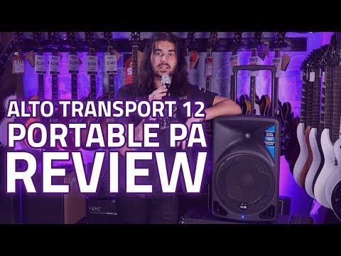 Alto Transport 12 Portable PA review
