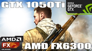(1080p) Sniper Elite 3 - GTX 1050 TI - AMD FX 6300 -Benchmark ULTRA/HIGH/MED/LOW Settings
