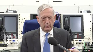 Mattis: 'Hundreds' of foreign fighters being rounded up