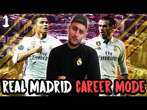 ПЕРСИ В РЕАЛ МАДРИД.. РОНАЛДО, БЕЙЛ И КОМПАНИЯ!! FIFA 17 REAL MADRID CF CAREER MODE #1