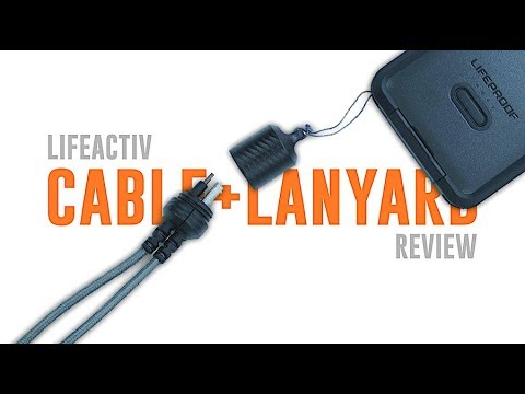 LifeProof LifeActiv LANYARD + CABLE | Review