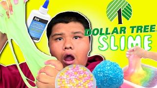 DOLLAR TREE SLIME CHALLENGE !! MAKE VIRAL SLIME USING DOLLAR TREE INGREDIENTS!!Dollar tree glue test