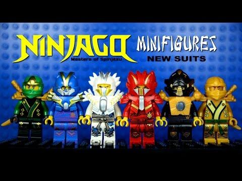 LEGO Ninjago New Suits KnockOff Minifigures Set 7 (Bootleg)