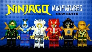 LEGO Ninjago New Suits KnockOff Minifigures Set 7 (Bootleg)