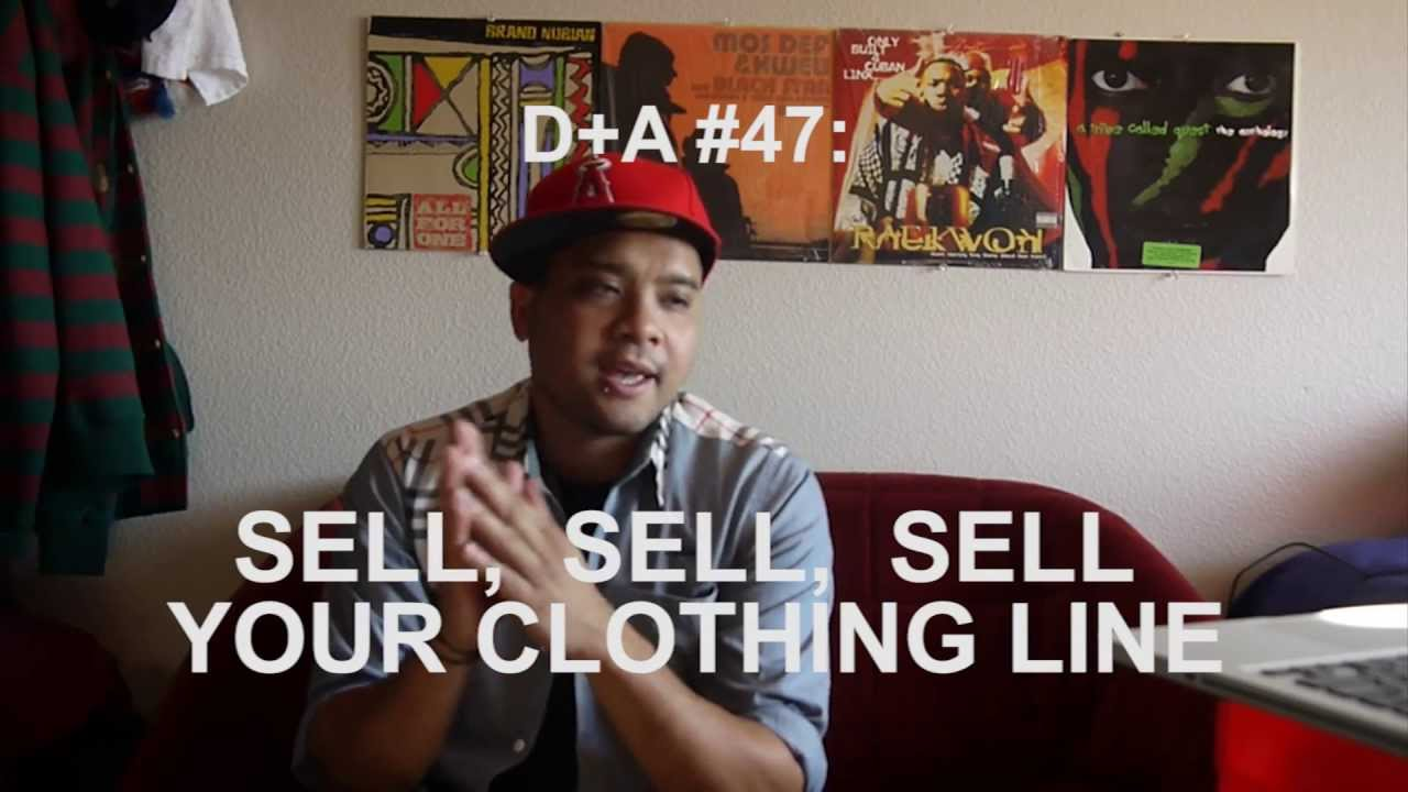 how to sell your own clothing line