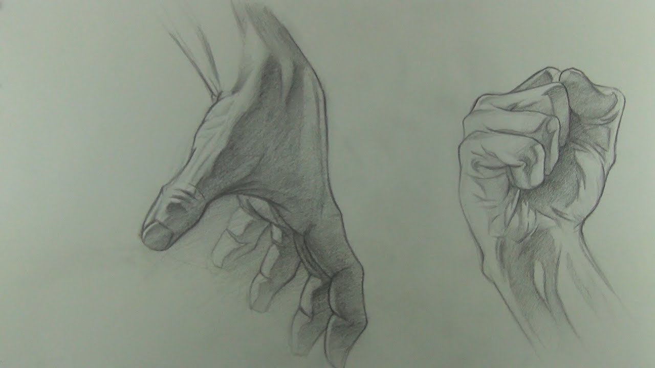 Hand Drawing Quick Sketch in Graphite