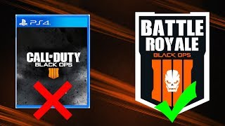 NO CAMPAIGN in Black Ops 4 (Replaced with Battle Royale Mode)