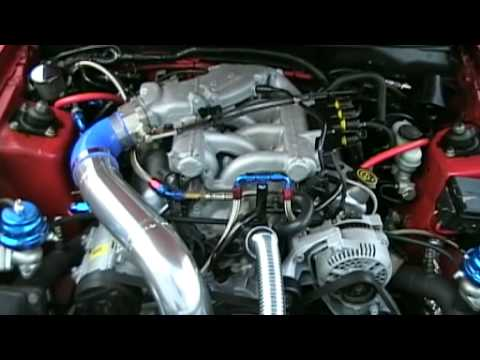 J S V2 Twin Turbo Roush V6 Mustang Revs And Idle Youtube