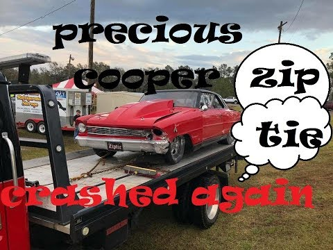 ZIPTIE CRASHES AT COTTONWOOD DRAGWAY