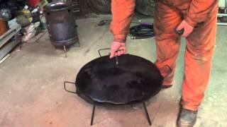 Сковорода из диска бороны. Необычная.(, 2015-02-12T20:29:34.000Z)