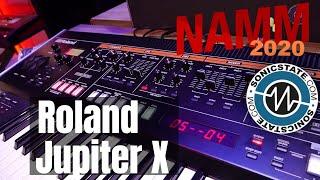 NAMM 2020: Roland Jupiter X