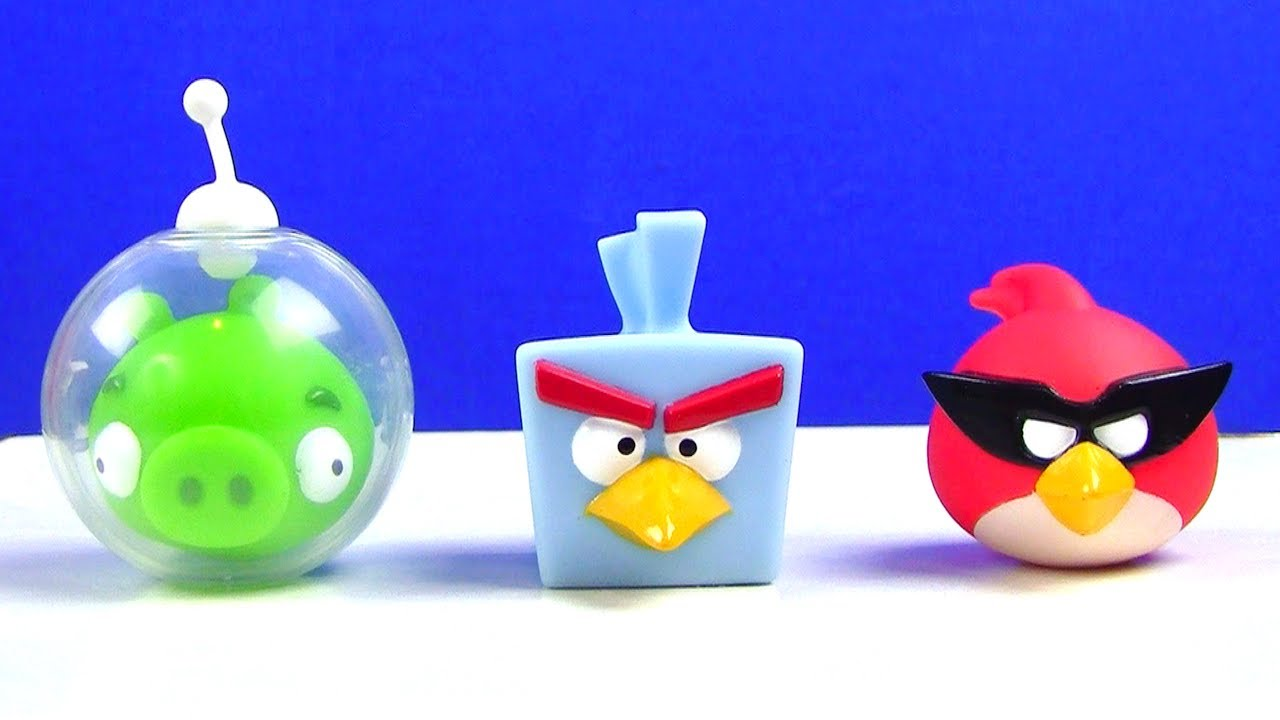 Angry Birds Toys : Angry birds space toy must see youtube