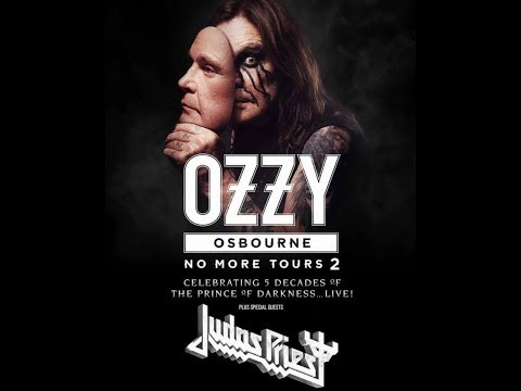 "OZZY OSBOURNE announced rescheduled shows in UK/Europe on his ""NO MORE TOURS 2"" tour!"