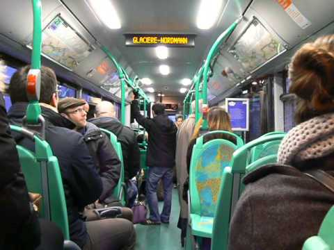 France man lion 39 s city hybride 2 ptes int rieur ratp ligne for Interieur frans