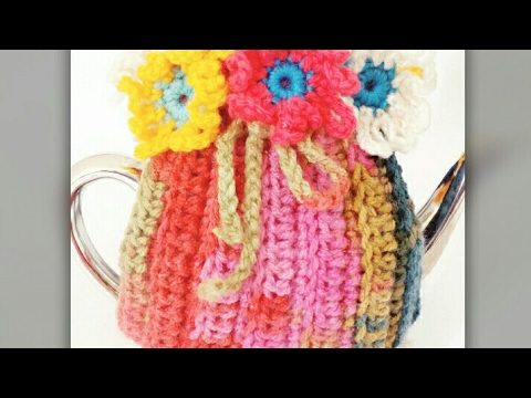 Very Easy Crochet Tea Cozy Part 1 Youtube