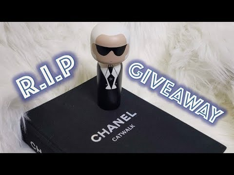 R.I.P Karl Lagerfeld | LIFE CELEBRATION GIVEAWAY | DocLUXURY