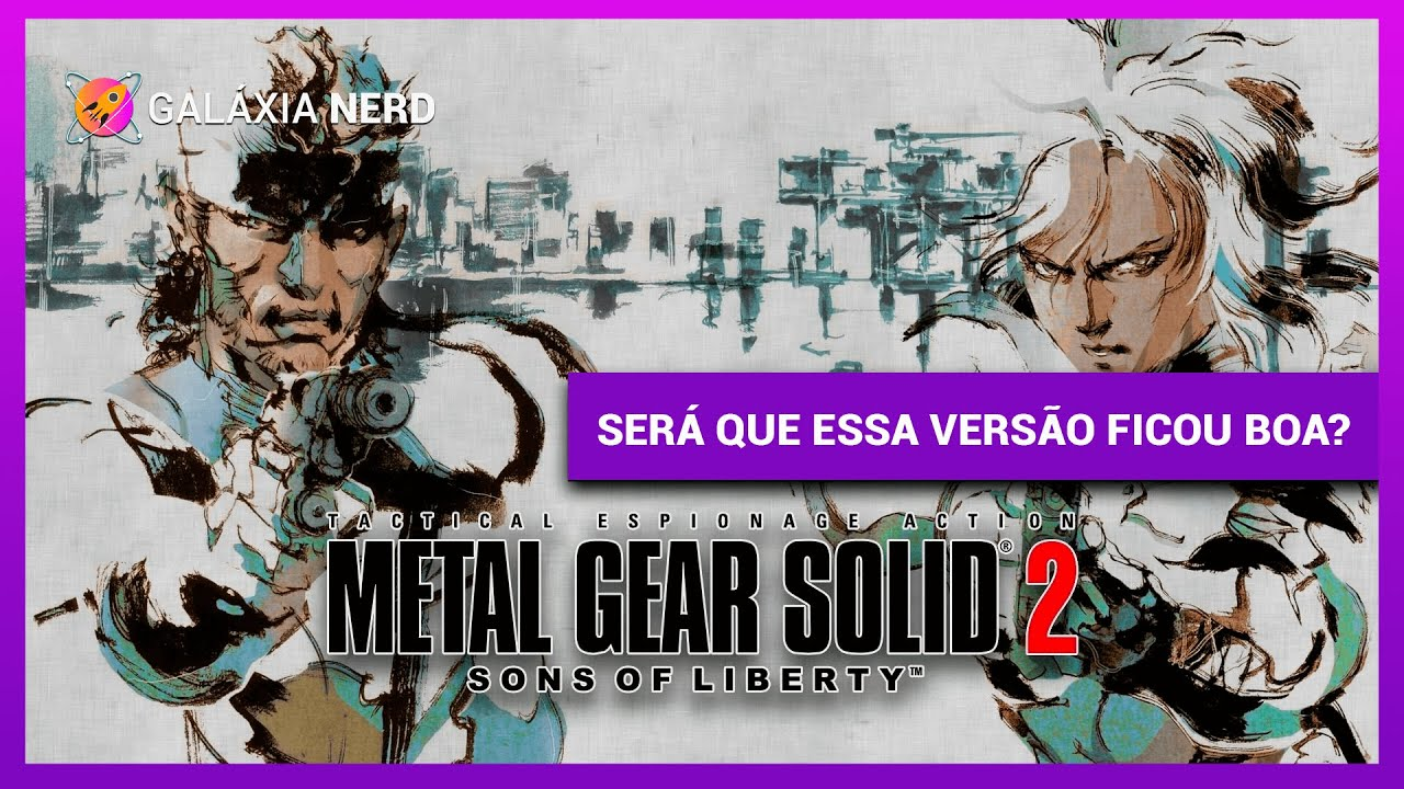Metal Gear Solid 2: Substance - PC Gameplay (GOG)