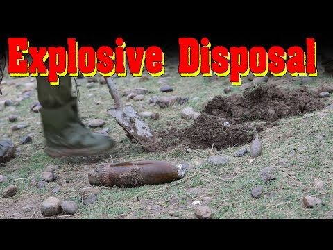 German army doing Explosive Disposal