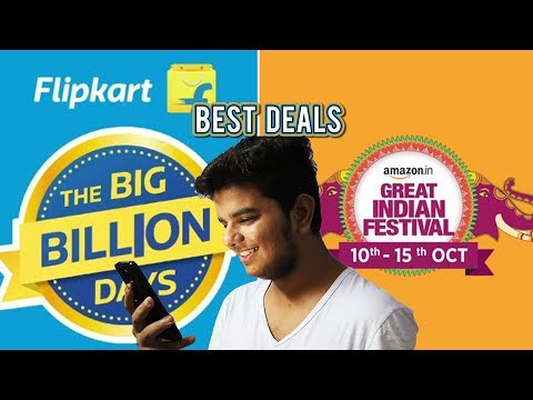 DEALS YOU CAN'T MISS [AMAZON GREAT INDIAN SALE AND FLIPKART BIG BILLION DAYS SALES]