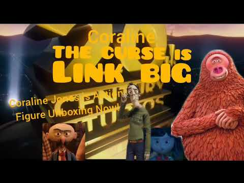 Coraline The Curse Is Link Big Coraline Jones Action Figure Clip Youtube