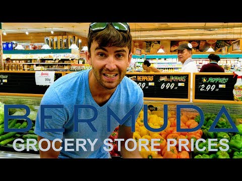 Bermuda Grocery Store Prices