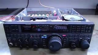 ALPHA TELECOM: YAESU FT-950 LIMPEZA, REVISÃO e ALINHAMENTO COMPLETO