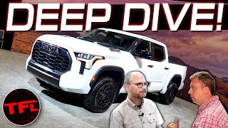 Here's EVERYTHING You Want To Know About the New 2022 Toyota Tundra From The Chief Engineer!