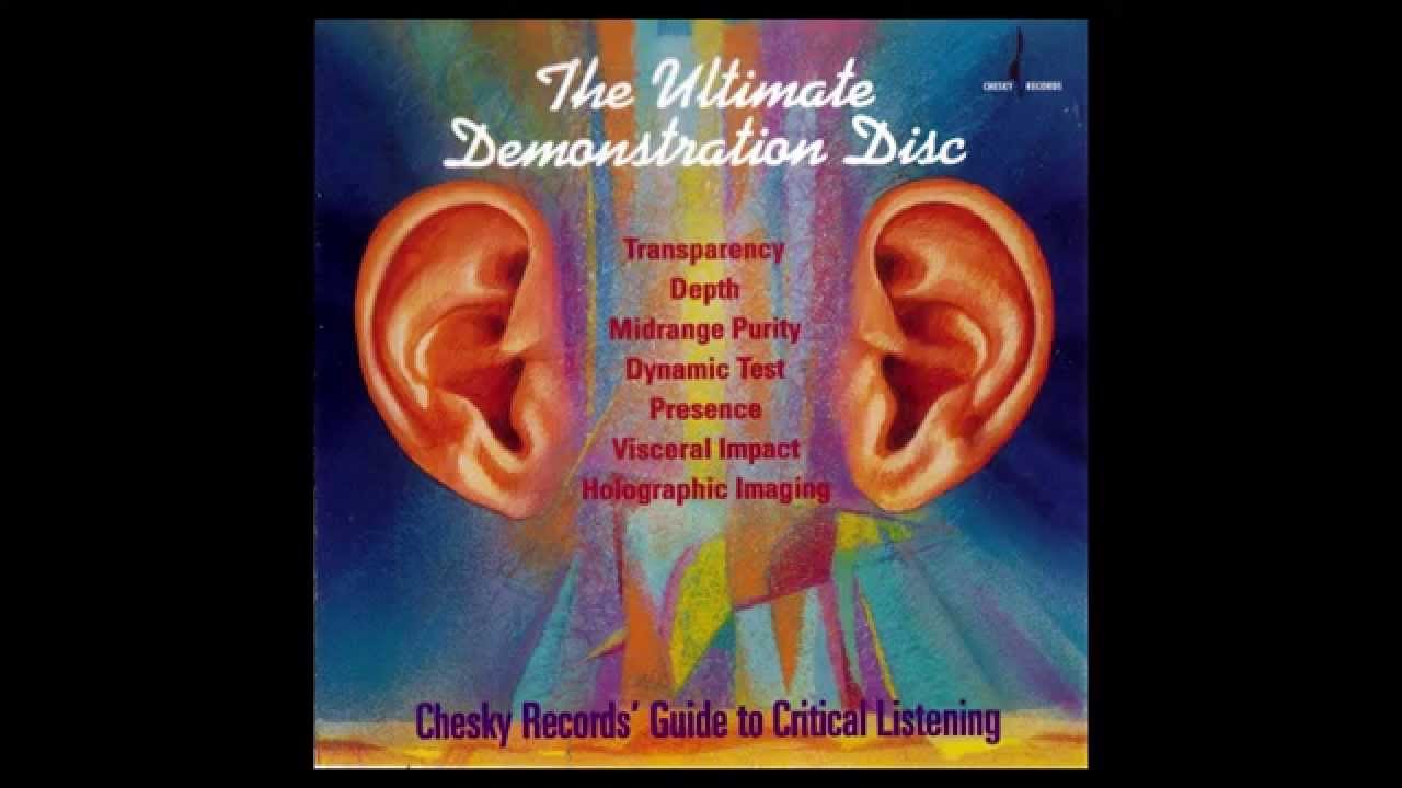 Welcome To The Ultimate Demonstration Disc 1 Chesky