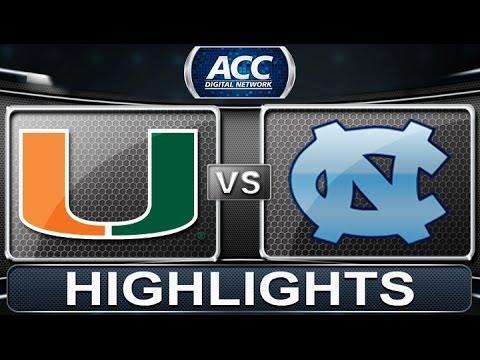 Miami vs North Carolina   2014 ACC Women's Basketb...