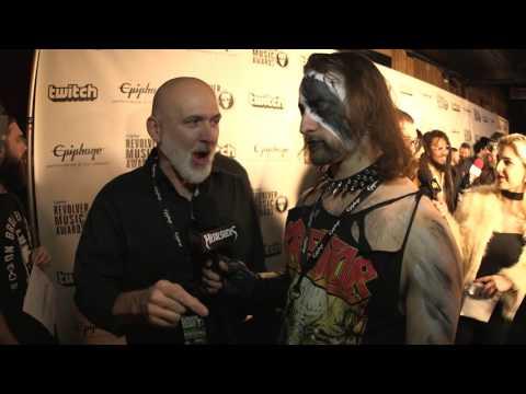 BYZANTINE Interview, Revolver Music Awards 2016 Black Carpet | MetalSucks