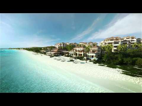 Zemi Beach Resort, Shoal Bay, Anguilla - Beach CGI