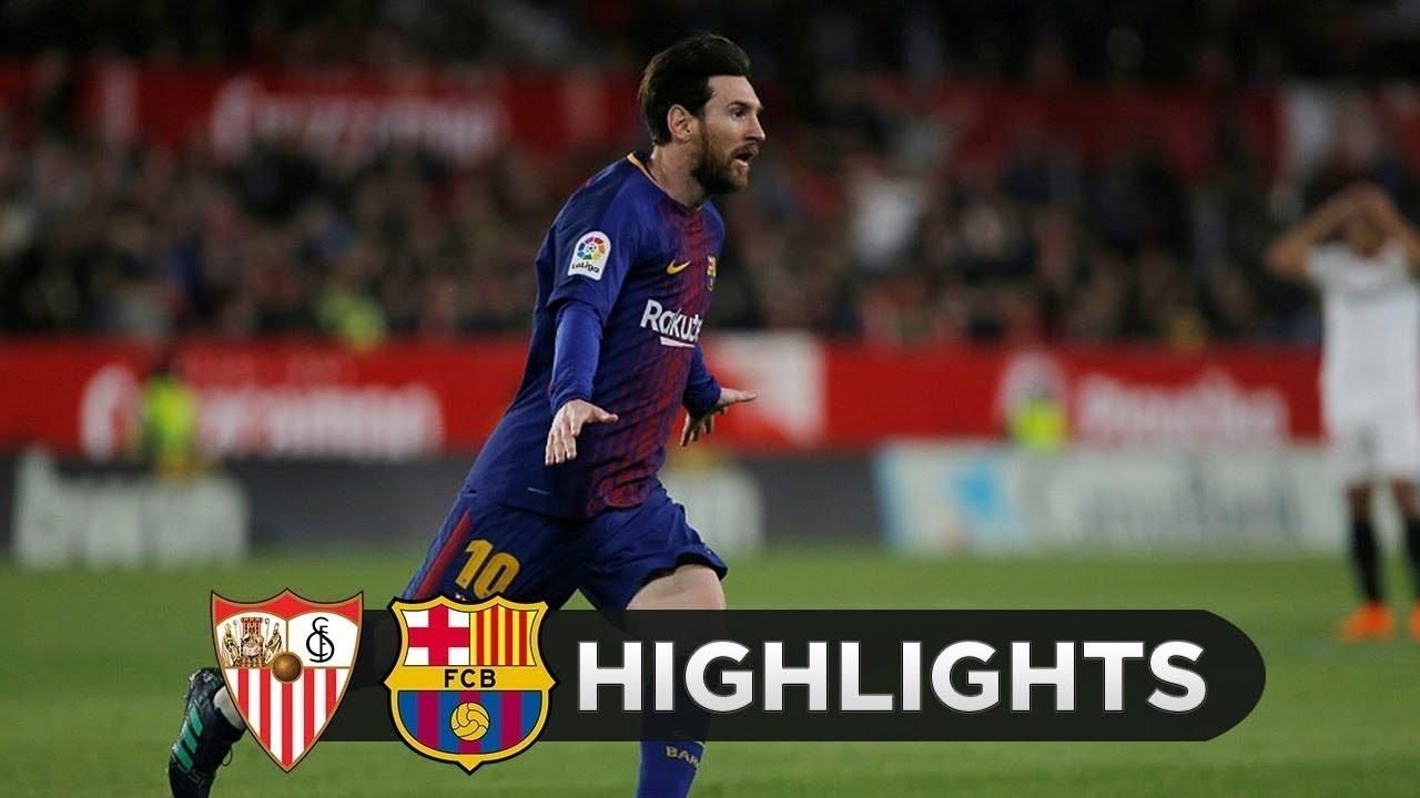 Download Barcelona  vs Sevilla ( 3-0)  All Goals & Highlights Copa del Rey Final 21/04/2018